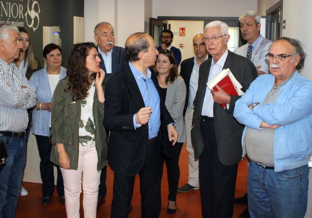 Inaguracion de centro para mayores en Brión